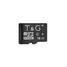 Карта пам яти microSDHC 16GB class 4 T&G (без адаптера)