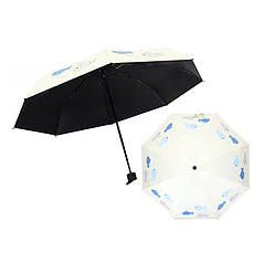 Міні-парасольку Small Fish Lesko 190T Pistachio кишеньковий дитячий від дощу