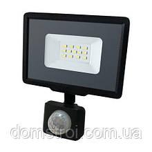 Светодиодный прожектор BIOM 10W S5-SMD-10-Slim+Sensor 6200К 220V IP65