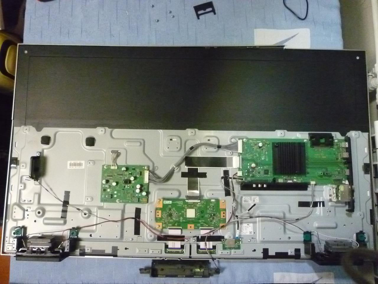 Платы от LED TV Sony KD-43XE7077 поблочно (разбита матрица).