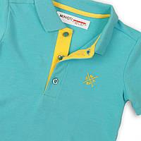 Детская подростковая футболка поло для мальчика 10-11 лет, 140-146 см