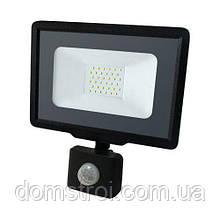 Светодиодный прожектор BIOM 30W S5-SMD-30-Slim+Sensor 6200К 220V IP65