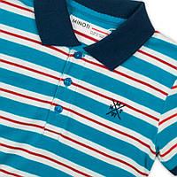 Детская футболка поло для мальчика 1-11 лет, 74-146 см Minoti, 74-80 см