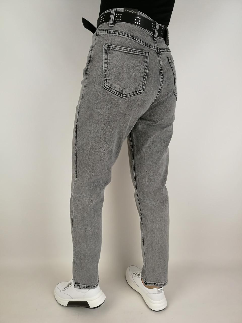 Женские джинсы мом полубатал