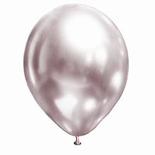 """Латексный шар Хром Розовый Жемчужина Brilliance 12 """""""