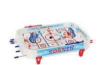 Настільна гра хокей (настільний хокей) на штангах 50х32см