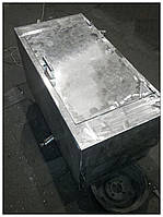 Нагревательный бак: 300 литров, нержавеющая сталь, сухой ТЭН