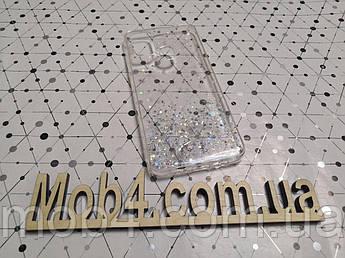 Силиконовый чехол накладка Звездная пыль для Samsung Galaxy A21s