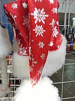 Шапка Деда Мороза (велюр мех)