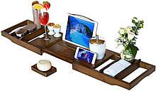 Столик для ванны ROYAL CRAFT WOOD Luxury, бамбуковый, коричневый