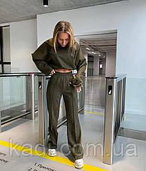 Замшевый костюм на дайвинге / арт.246