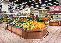 Торговое оборудование для супермаркетов и минимаркетов под заказ
