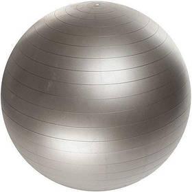 М'яч для фітнесу Фітбол Profit 65 см посилений 0276 Silver