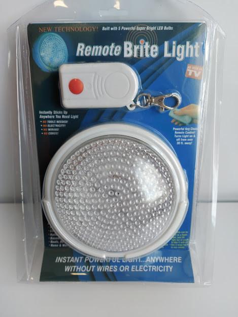 Светильник лампа с пультом ночник Remote Brite Light