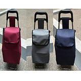 Тачка сумка кравчучка Stenson MH-2785 93 см, темно-синяя, фото 2