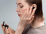 Навушники безпровідні Bluetooth MDR MI Redmi AirDots в кейсі, чорні, фото 4