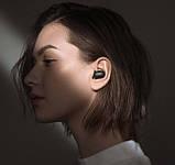 Навушники безпровідні Bluetooth MDR MI Redmi AirDots в кейсі, чорні, фото 6