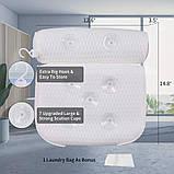 Подушка для ванны KiDEPOCH 4D Air Mesh на 7 присосках, фото 4