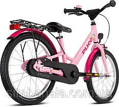 """Двоколісний велосипед Puky YOUKE 18"""" pink"""