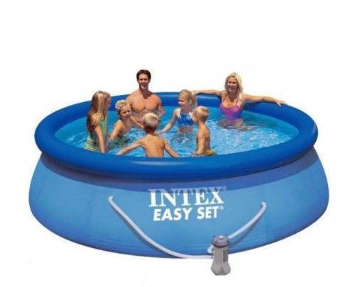 Надувний басейн Intex 28122 305х76 + насос