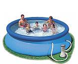 Надувний басейн Intex 28122 305х76 + насос, фото 2