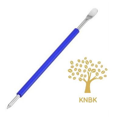 Латте арт кисточка для бариста (перо для рисунков на кофе) Motta Синяя