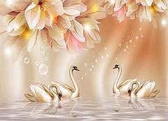 """Вафельна картинка  """"Лебеді"""""""