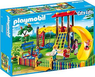 Playmobil 5568 - Детская площадка - игровой набор Плеймобил City Life Children's Playground
