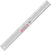 Лінійка будівельна алюмінієва 400мм INTERTOOL MT-2002