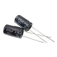 Конденсатор электролитический алюминиевый 470мкФ 35В 105С  10 шт