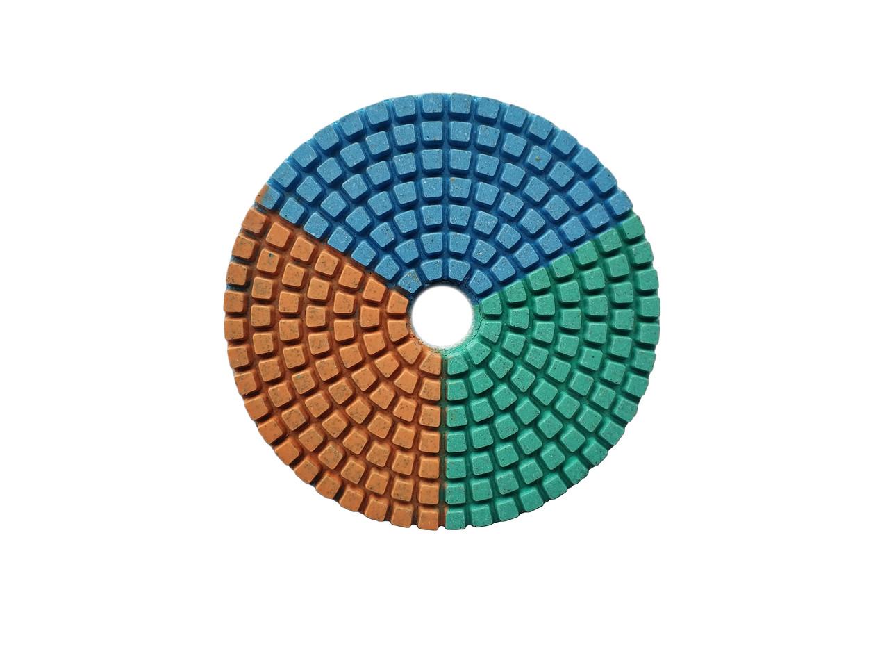285-212 Диск алмазний грунчкий CRAFT 100*22,2мм, зерн. 120 - сухе/мокре шлиф. кам., бетон