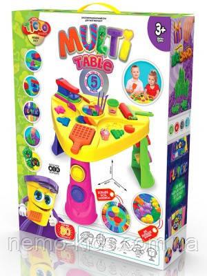 Набор для креативного творчества Multi Table , Danko Toys, Многофункциональный стол