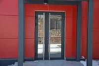 Двери алюминиевые в структурной покраске, фото 1