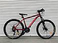 Спортивный горный алюминиевый велосипед 26 дюймов TopRider горный велосипед с алюминиевой рамой ТОП РАЙДЕР, фото 8