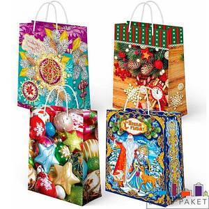 Пакети подарункові новорічні