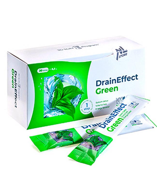 DrainEffect green Дрейн Ефект грін порошок очищення і схуднення очищаючий напій енерджі слім дієта драйн