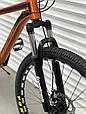 Спортивный горный алюминиевый велосипед 26 дюймов TopRider горный велосипед с алюминиевой рамой ТОП РАЙДЕР, фото 3