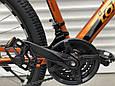 Спортивный горный алюминиевый велосипед 26 дюймов TopRider горный велосипед с алюминиевой рамой ТОП РАЙДЕР, фото 4