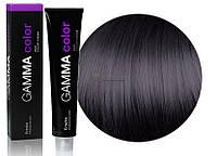 Стойкая крем-краска для волос Gamma Color Erayba 1/00 Черный, 100 мл