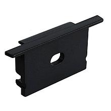 Заглушка BIOM ЗПВ-20B для профиля LPV-20AB, черная 20х30мм