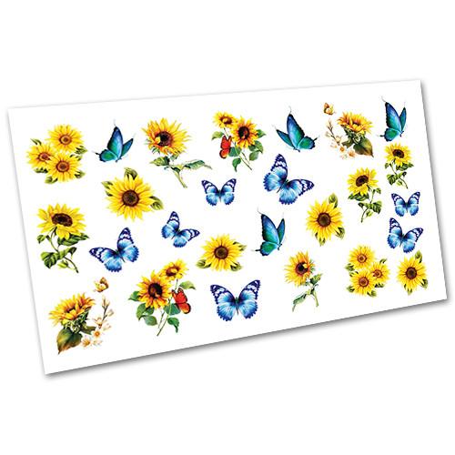 Декор для манікюру Слайдер дизайн Метелики №1534