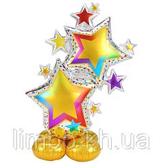 Стоячая фигура Звезды разноцветные