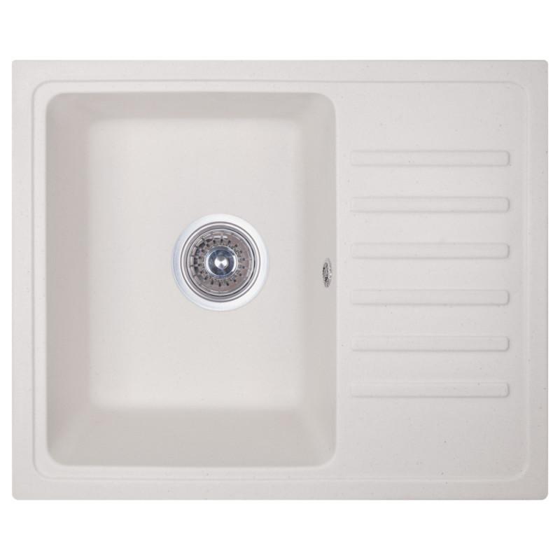 Кухонна мийка Fosto 5546 SGA-203 Білий (FOS5546SGA203)