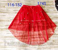 """Спідниця дитяча фатиновая зі шлейфом на дівчинку 116-152 см(3ол) """"MATILDA"""" купити недорого від прямого постачальника"""