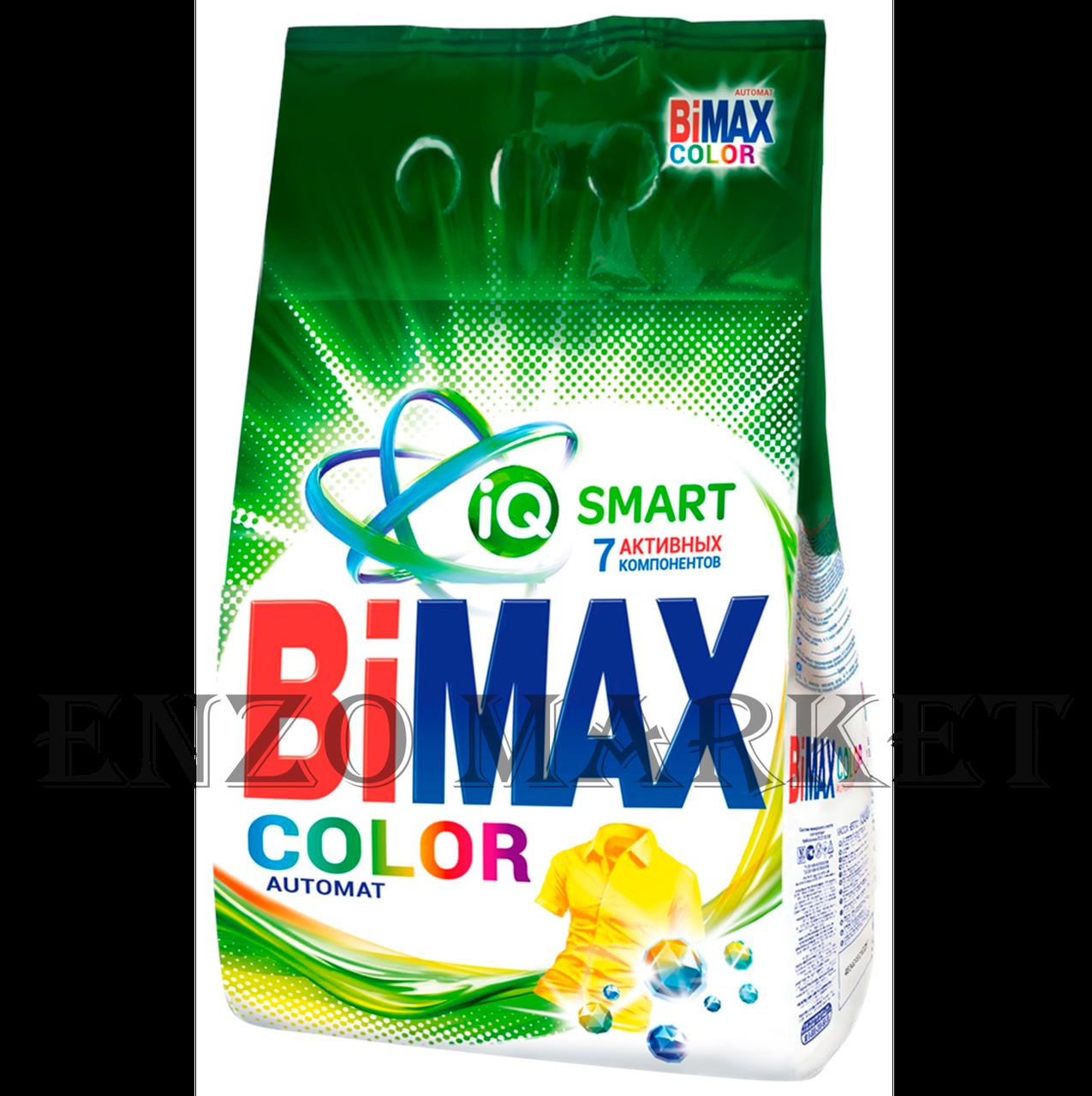 Стиральный порошок BiMax Color Автомат м/у, 3 кг