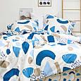 Двуспальное постельное белье твил сатин ТМ Вилюта 517, фото 4