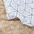 Двуспальное постельное белье твил сатин ТМ Вилюта 519, фото 4