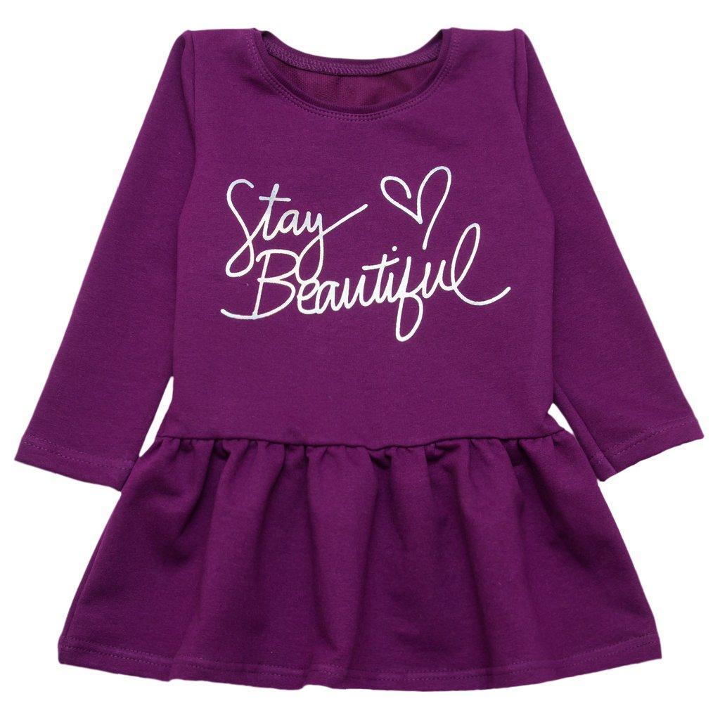 Платье для девочки демисезон Stay beautiful