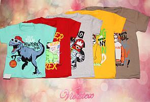 Детская футболка Мышка для мальчика фулликра