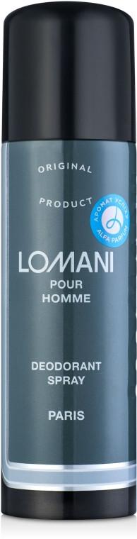 """Чоловічий парфюмированнѕй дезодорант """"Lomani"""" Parfums Parour 200мл"""
